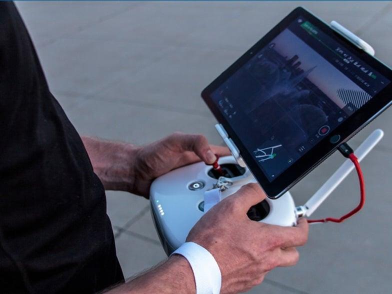Trabajo remoto con drones Peru