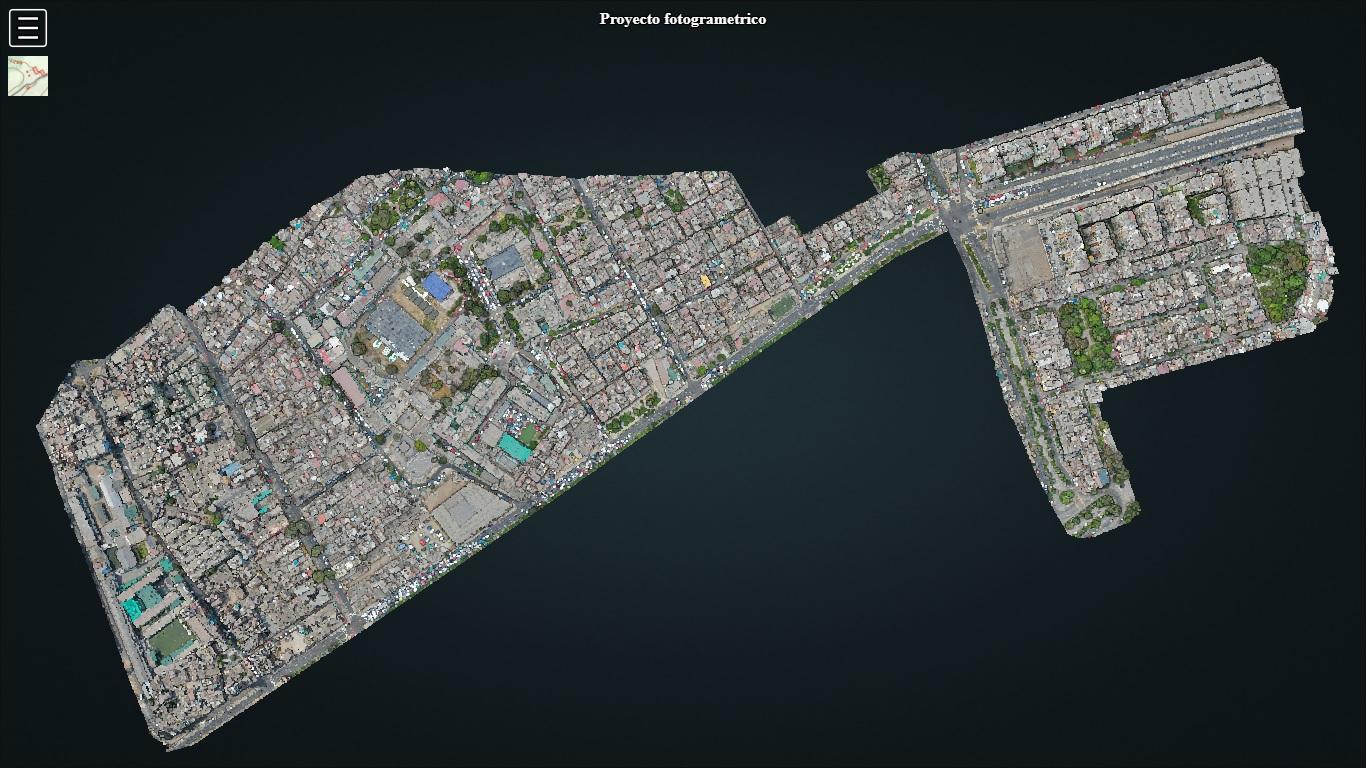 Proyecto fotogrametrico rimac drones peru
